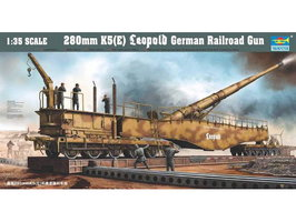 Trumpeter 280mm Leopold German Railroad Gun 1:35