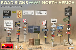 Miniart  Road Signs WW2 North Africa 1:35