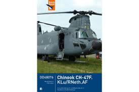 Dutch Decal Chinook CH-47.KLu/RNeth.AF 1:48