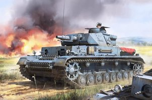 Border Model Pz.Kpfw.IV Ausf.F1 1:35