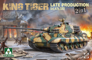 Takom King Tiger Sd.Kfz.182 Late Production  1:35