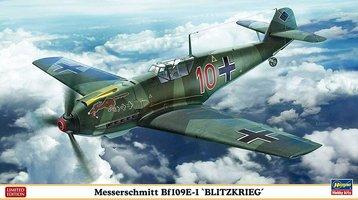Hasegawa Messerschmitt Bf109E1 Blitzkrieg  1:48
