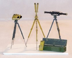 Plusmodel  German Field Optical Equipment 1:35
