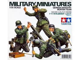 Tamiya German Infantry Mortar Team
