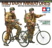 Tamiya British Paratroopers&Bicycles Set