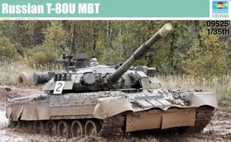 Trumpeter Russian T-80U MBT 1:35