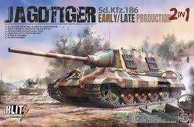 Takom Jagdtiger Porsche Production Sd.Kfz.186 1:35