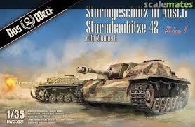 Das Werk Stug III Ausf.G/StuG 42 2in1 Met zimmerit  1:35