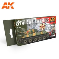 AK AFV Paint Set Soviet Camouflages