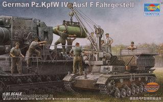 Trumpeter German Pz.Kpfw IV Aus f Fahrgestell1:35