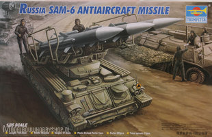 Trumpeter Plastic Modelbouw Russian SAM-6 antiaircraft missile1:35
