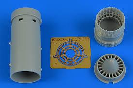 Aires Kfir C2/C71/F21 Exhaust Nozzle 1:48