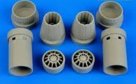 Aires F/A-18E  Exhaust Nozzles Opened 1:48