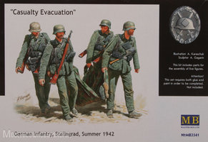 Masterbox	german casualty evacuation		1:35