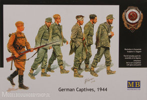 Masterbox	german captives '44		1:35