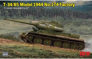 Rye Field Model T34/85 Model 1944 1:35