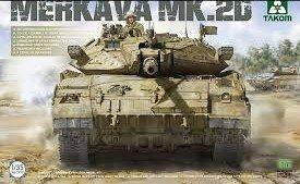 Takom Israeli  Merkava Mk.2d  1:35
