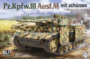 Takom Pz.Kpfw.III Ausf.M mit schurzen 1:35