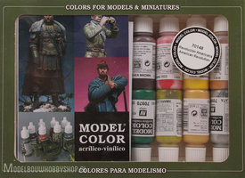 VALLEJO	Model Color, 16 Color Set  American Revolution