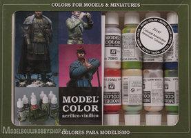 VALLEJOModel Color, 16 Color Set American Colonial