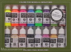 VALLEJOModel Color, 16 Color Set 16 Wargames Special