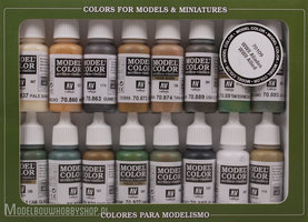 VALLEJO	Model Color, 16 Color Set	WWII Allieds