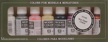 VALLEJO	Model Color, 8 Color Set 	Non Dead Chaos