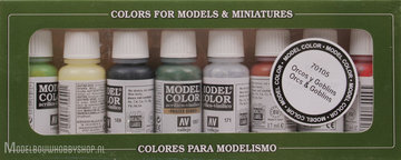 VALLEJO	Model Color, 8 Color Set 	Orcs & Goblins