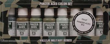 Panzer Aces 8 Color Set: Crew uniforms