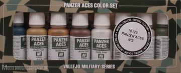Panzer Aces 8 color Set No.2