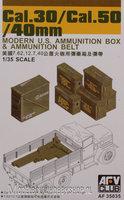 AFV Cal.30/Cal.50/40mm Ammo Boxen 1:35