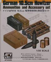 AFV German LeFH 105mm Ammo Box 1:35