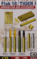 AFV German 88mm L/56 Ammo and Accessory set (Flak TigerI) 1:35
