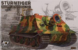 AFV 38cm RW61 SturmTiger 1:35