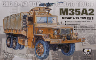 AFV M35A2  6x6 2 1/2 Ton Cargo Truck 1:35
