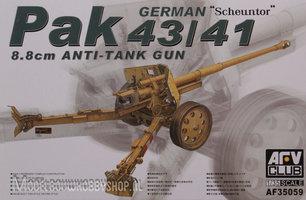 AFV German Pak 43/41  88mm anti tank gun 1:35