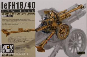 AFV LeFH18/40  German 105mm Houwitzer 1:35