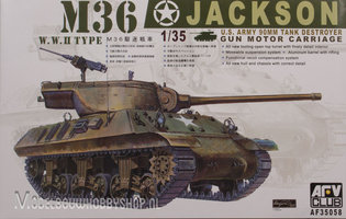AFV M36 Jackson 90mm Tank Destroyer 1:35