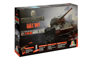 WORLD of TANKS T-34/85  1:35