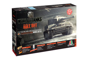 WORLD of TANKS PZ.KPFW.VI TIGER 1:35