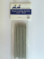 Albion Alloys Plastic sanding needles 150 grit
