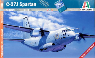 Italeri Plastic Modelbouw C-27J SPARTAN 1:72