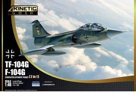 Kinetic F-104G/TF-104G Luftwaffe/Navy  1:48