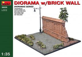 Miniart  Diorama With Brick Wall 1:35