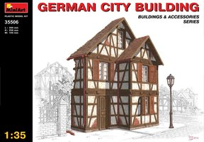 Miniart  German City Building 1:35