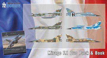 Special Hobby Mirage F.1 Duo Pack & Book 1:72