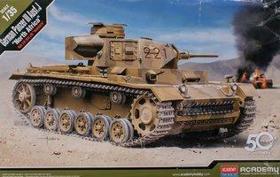 Academy German Panzer III Ausf.J  1:35