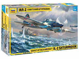 Zvezda  Soviet Attack Aircraft IL-2  1:48
