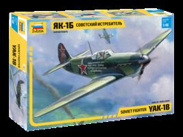 Zvezda  Soviet Fighter YAK-1B  1:48