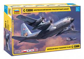 Zvezda 7321 C-130H American Heavy Transport Plane 1:72